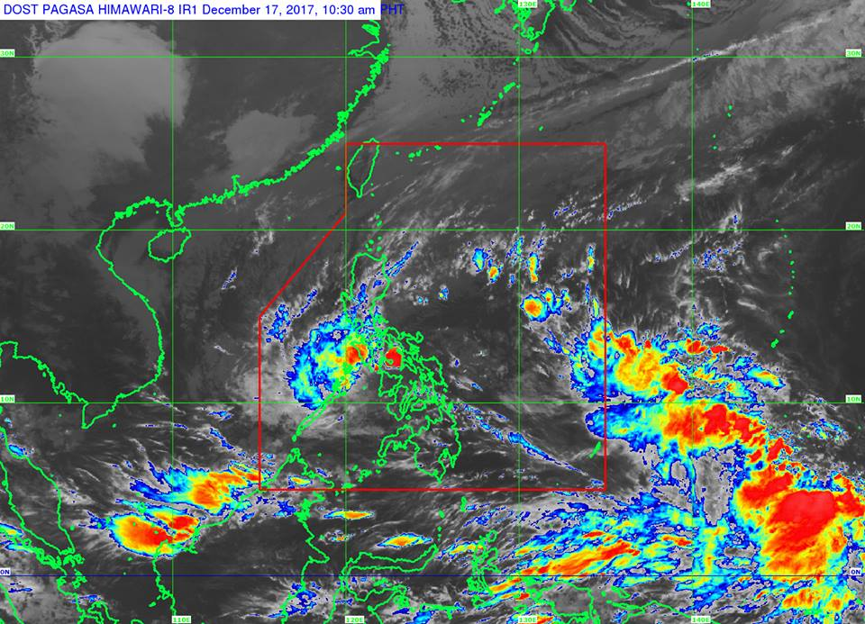 This was bared by PN flag-officer-in-command Vice Admiral Ronald Joseph Mercado in a statement Monday. (Photo: Dost_pagasa/Facebook)