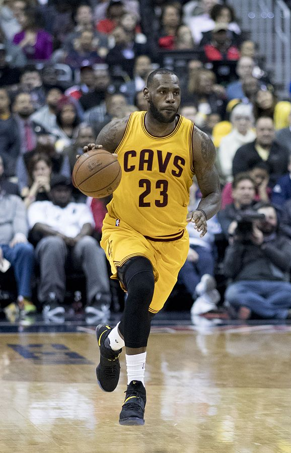 FILE: James finished with 37 points, 15 assists and 10 rebounds in 48 minutes. (Photo By Keith Allison from Hanover, MD, USA - LeBron James, CC BY-SA 2.0)