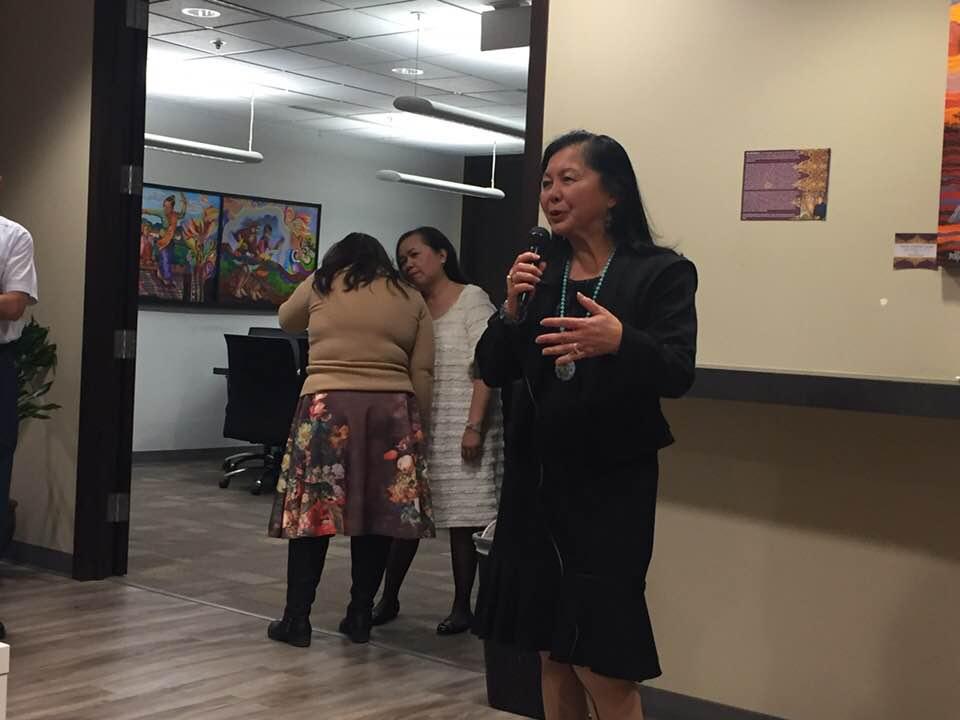 Sharing their WE experiences 2017: Marilou Maclang-Yodogawa.