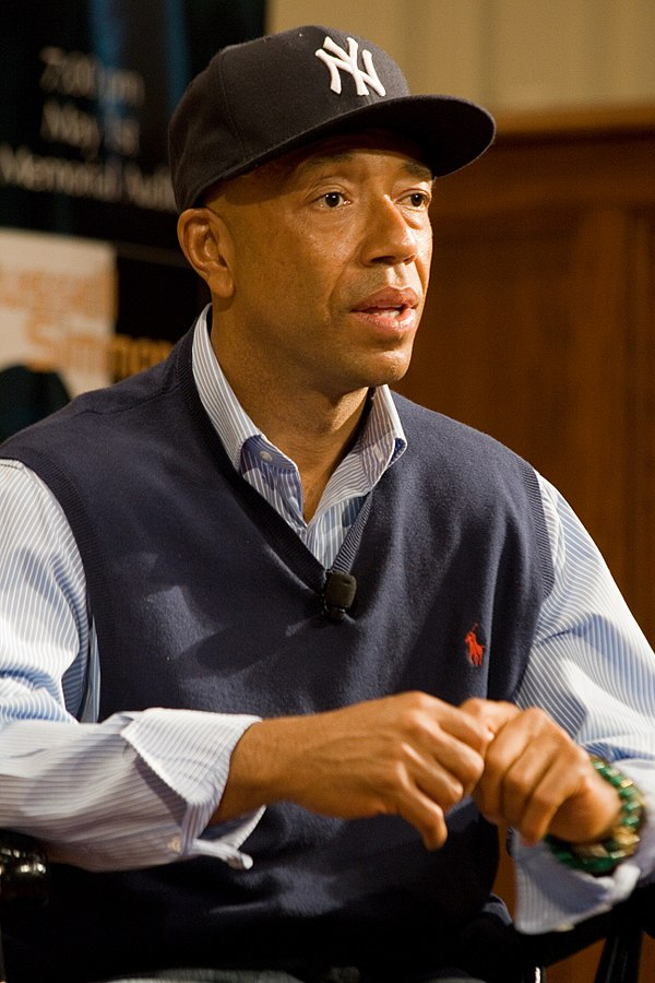Russel Simmons (Photo By Brett Weinstein - Transferred from en.wikipedia to Commons., CC BY-SA 2.5)