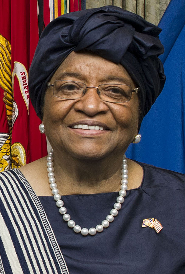 Former international football star George Weah and Vice-President Joseph Boakai are vying to replace Africa's first female head of state, Nobel Peace Prize winner Ellen Johnson Sirleaf. (Photo By Sean Hurt - https://www.flickr.com/photos/secdef/16664343682/, CC BY 2.0)