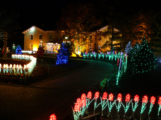 About 13 years ago, Bob Ley and his wife drove from their hometown of Cambridge, Ohio, to see the famous Oglebay Winter Festival of Lights in nearby Wheeling, West Virginia. (Photo by marada/Flickr, CC BY-ND 2.0)