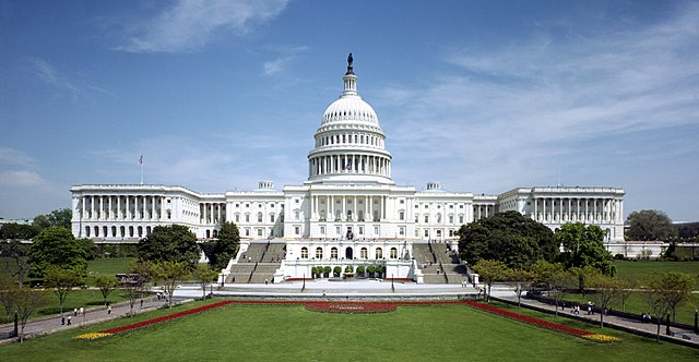 The United States Capitol, often called the Capitol Building, is the home of the United States Congress, and the seat of the legislative branch of the U.S. federal government (Photo By Architect of the Capitol - aoc.gov, Public Domain)
