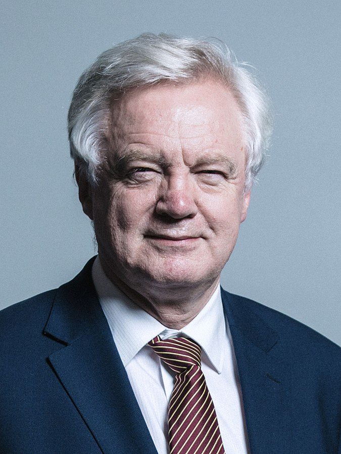 Official portrait of Mr David Davis (Photo By Chris McAndrew, CC BY 3.0)