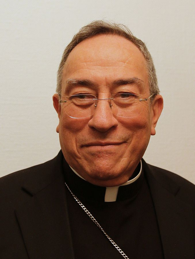 Cardinal Óscar Andrés Rodríguez Maradiaga, photographed during a visit to the Roman Catholic Diocese of Oslo, Norway, November 12, 2014 (Photo By Mtande - Own work, CC BY-SA 4.0)