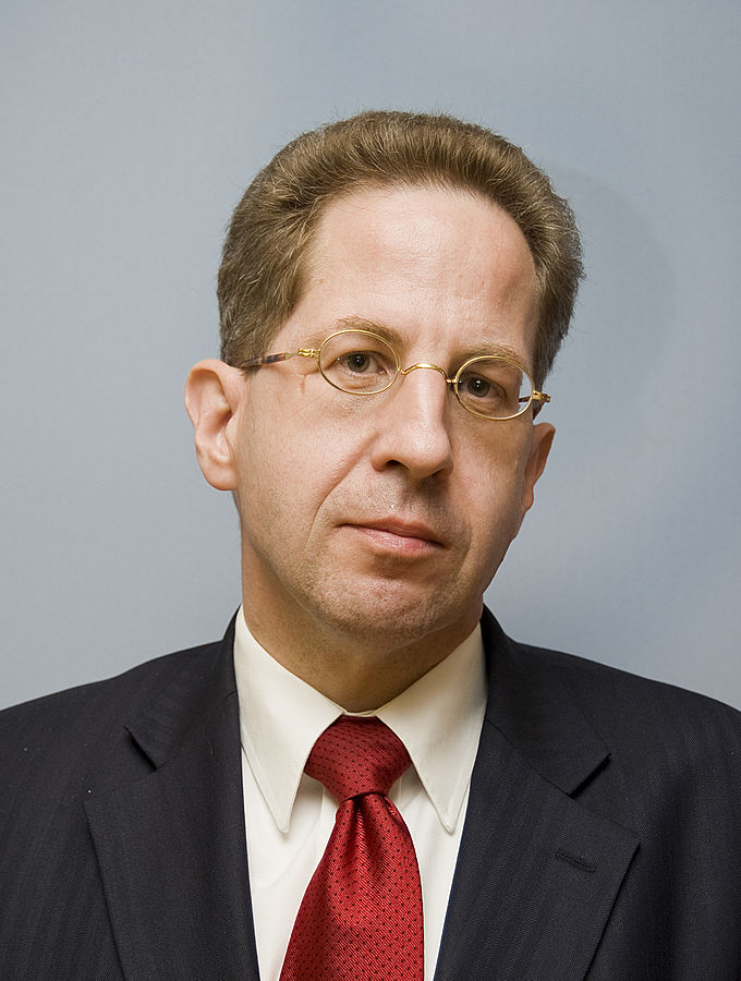 Hans-Georg Maassen said in comments released Sunday that his agency is so far aware of 10,000 German citizens targeted by China, in particular politicians and members of government agencies. Using primarily LinkedIn, Maassen says China's spy agency has established multiple fake profiles to pose as headhunting agencies, consulting firms, think-tanks or researchers. (Photo By Bundesministerium des Innern/Sandy Thieme, CC BY-SA 3.0 de)