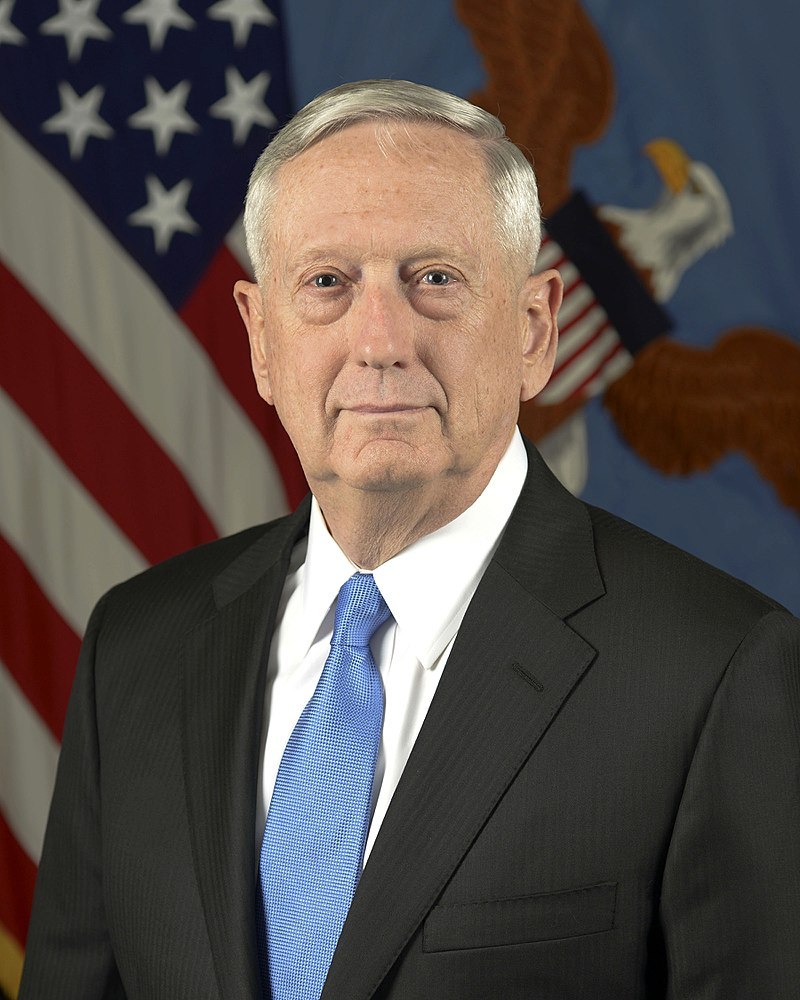 Mattis' trip to Pakistan comes at the end of a short trip to the region, including stops in Egypt, Jordan and Kuwait. (Photo By Monica King - United States Department of Defense - https://media.defense.gov/2017/Jan/26/2001691152/-1/-1/0/170126-D-ZZ999-002.JPG, Public Domain)