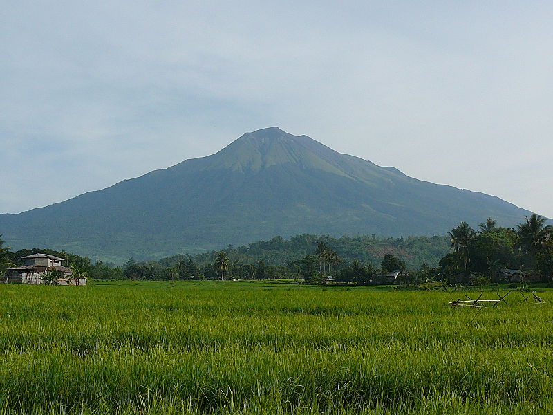 The Vulcano Mount Canlaon (Negros Occidental, Philippines) in September 2009 (Photo By Studphil - Own work, Public Domain)