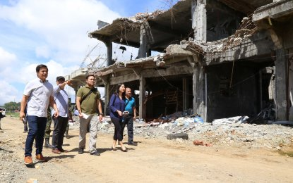 The Department of Public Works and Highways (DPWH) has started the post conflict needs assessment (PCNA) in connection with the reconstruction of the war-torn Marawi City, Lanao del Sur. (PNA PHOTO)