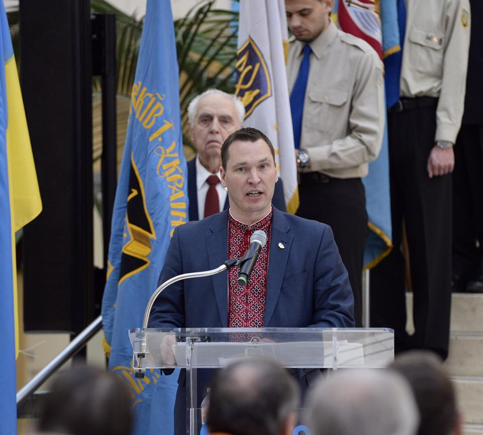 """This petty and ridiculous restriction has real consequences for businesses and hard-working people on both sides of the border — and we are going to end it,"" Alberta Economic Development Minister Deron Bilous said Thursday. (Photo: Deron Bilous/Facebook)"