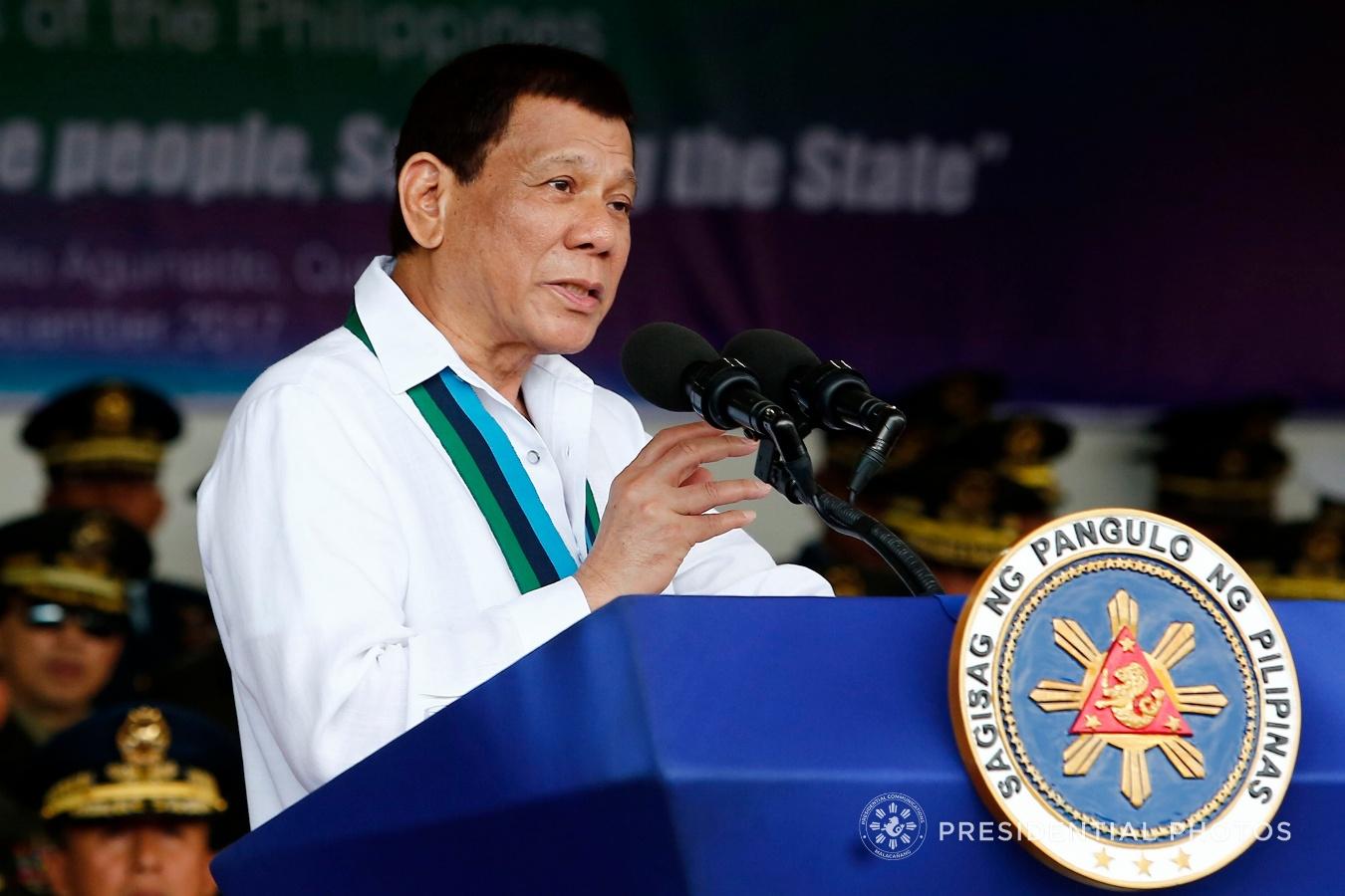 FILE: President Rodrigo Duterte. (PCOO PHOTO)