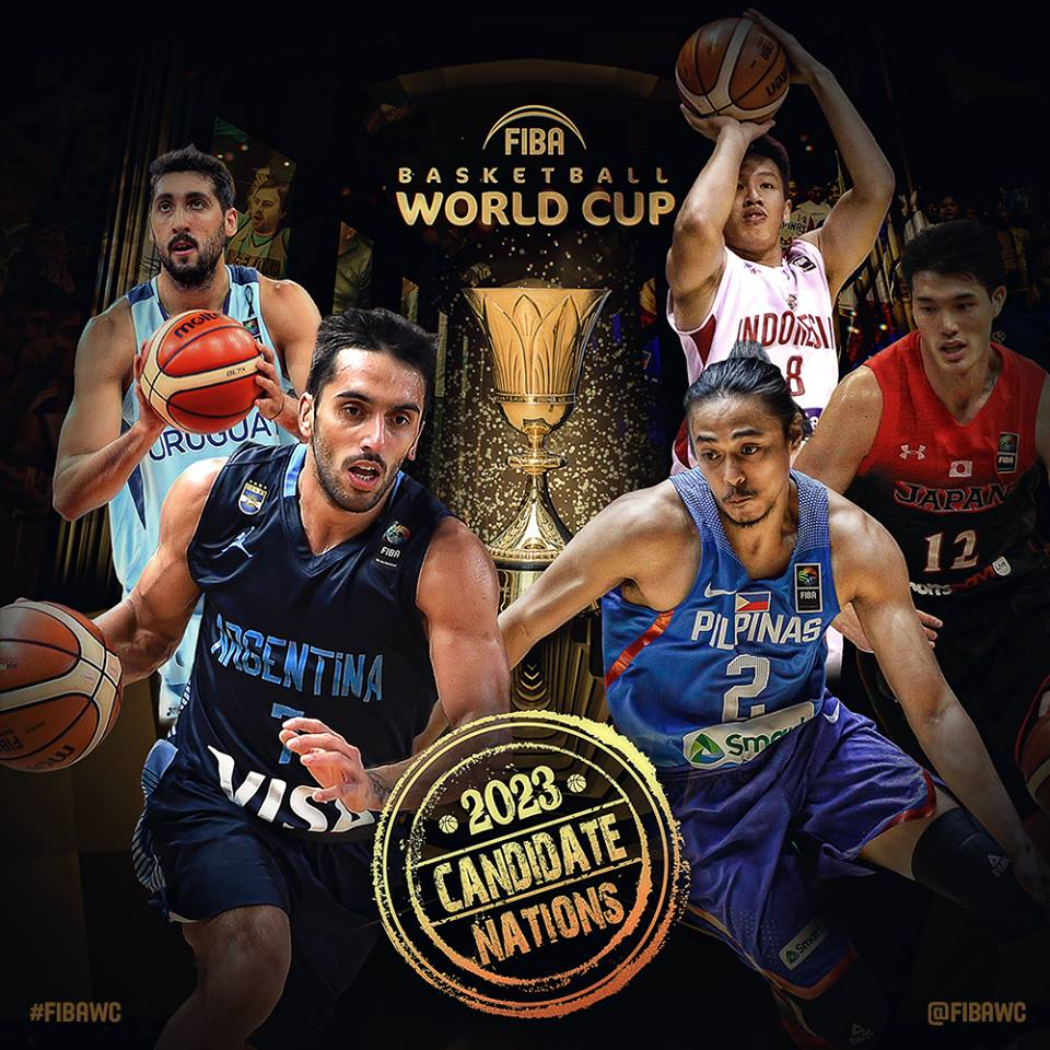 Basketball World Cup to be hosted by 3 Asian nations in 2023