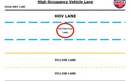 MMDA set to test HOV lane scheme
