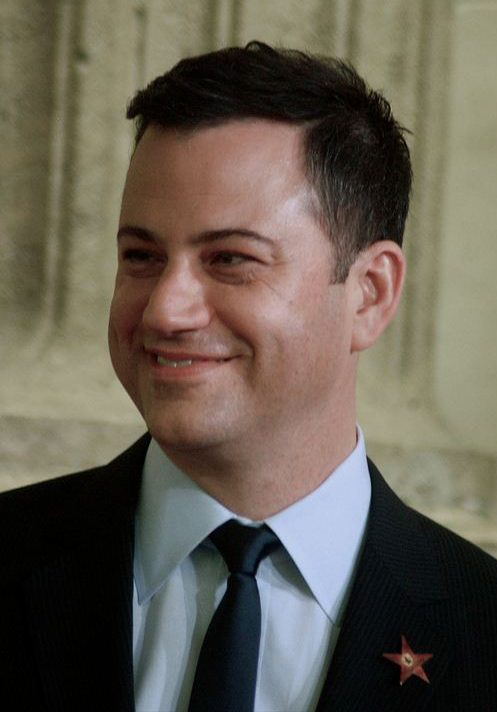 Kimmel said it's ``disgusting'' that Congress is putting tax cuts for millionaires ahead of the lives of children. (Photo By Angela George, CC BY-SA 3.0)