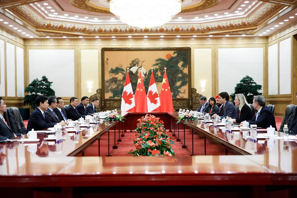 Pursuing free trade with China and preserving the North American Free Trade Agreement are part of Canada's international mission to combat the rising tide of populism, Prime Minister Justin Trudeau said Tuesday. (Photo: Justin Trudeau/Facebook)