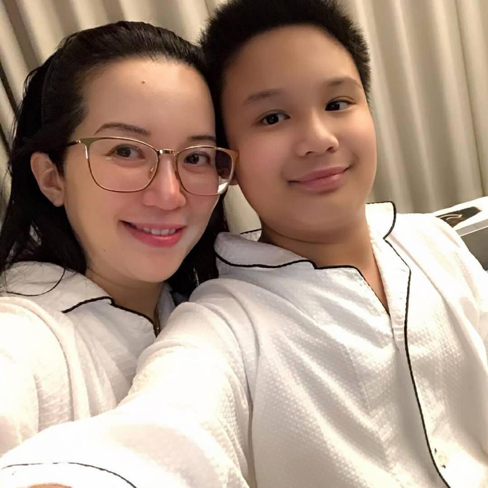 """Actress and TV host Kris Aquino reacted on netizens who call his son, Bimby Aquino Yap, a """"homosexual"""" or gay. (Photo: Kris Aquino/Facebook)"""