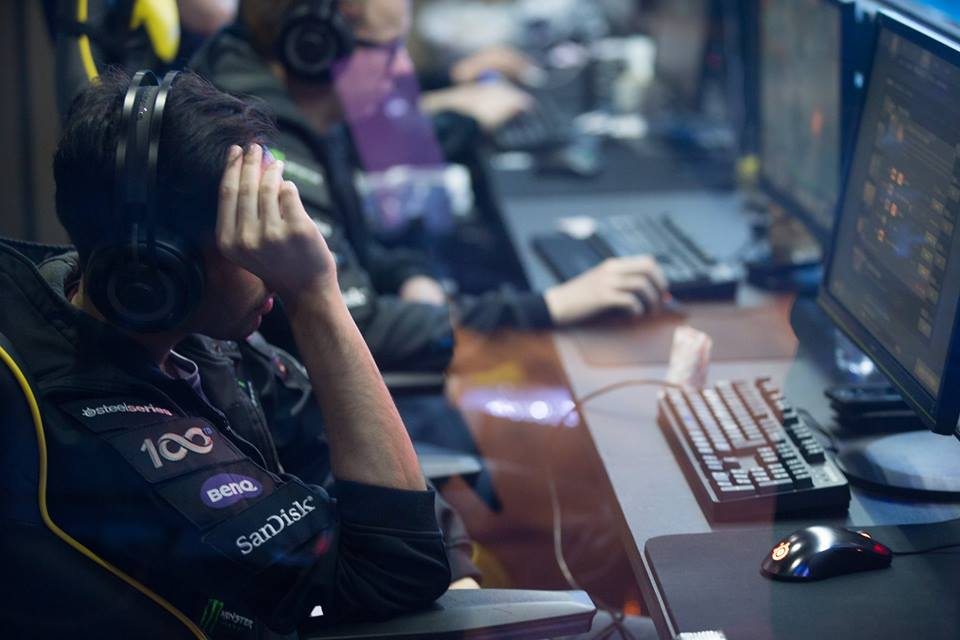 European side OG proved to be too much for Filipino quintet TNC in the finals of the Mars DOTA 2 League in Macau on Sunday night. (Photo: Mars Media/Facebook)