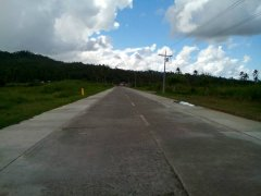 The extension will cover civil works for the 11.3-kilometer unpaved section of the coastal road and construction of three bridges. These projects are not included in the original proposal. (PNA Photo)
