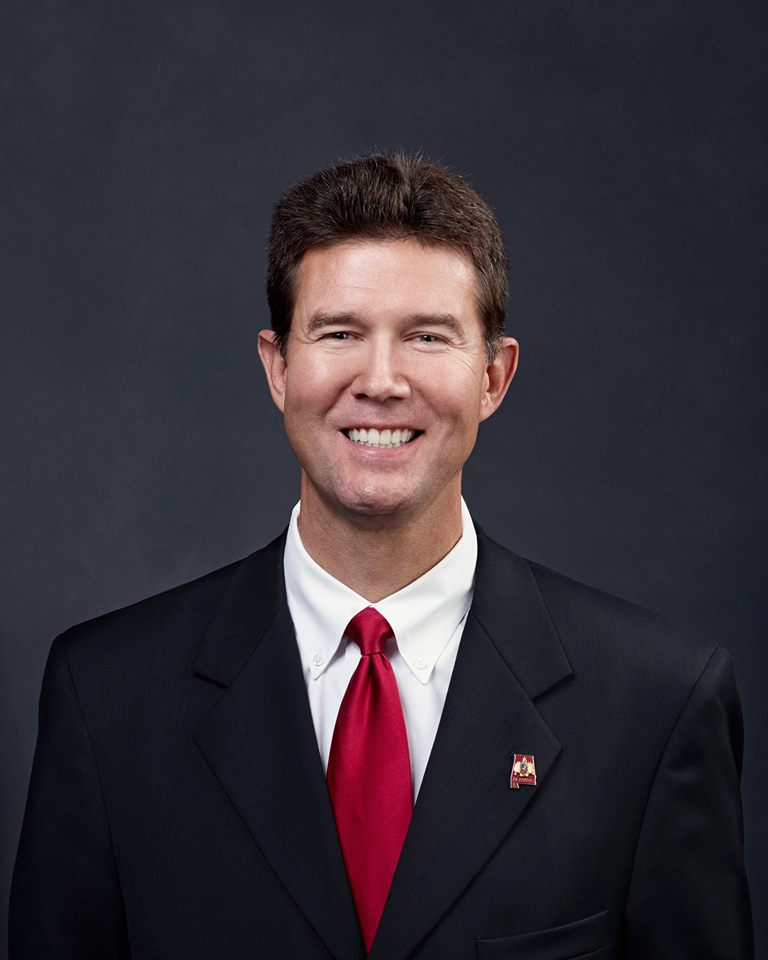 """""""It would be very unlikely for that to occur,"""" Secretary of State John Merrill said late Tuesday from his office at the Alabama Capitol. (Photo: John Merrill/Facebook)"""