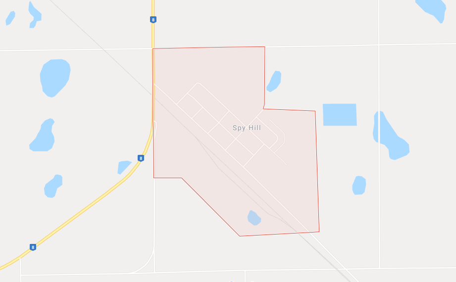 A small Saskatchewan town opened its doors on Christmas morning to a Via Rail train with almost 100 passengers that suffered mechanical problems due to extremely cold weather. (Google Maps)