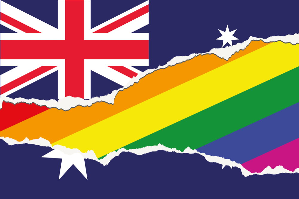 Australia's Parliament voted Thursday to allow same-sex marriage across the nation, following a bitter debate settled by a much-criticized government survey of voters that strongly endorsed change. (Shutterstock)