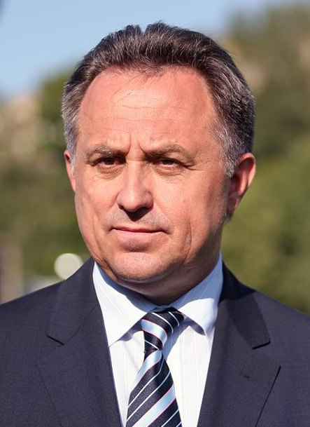 Mutko aimed barbs at the IOC and international media, and singled out other countries' doping issues, in a 77-minute news conference at the State Kremlin Palace. (Photo by Aleksandr Mysiakin - soccer.ru, CC BY-SA 3.0)