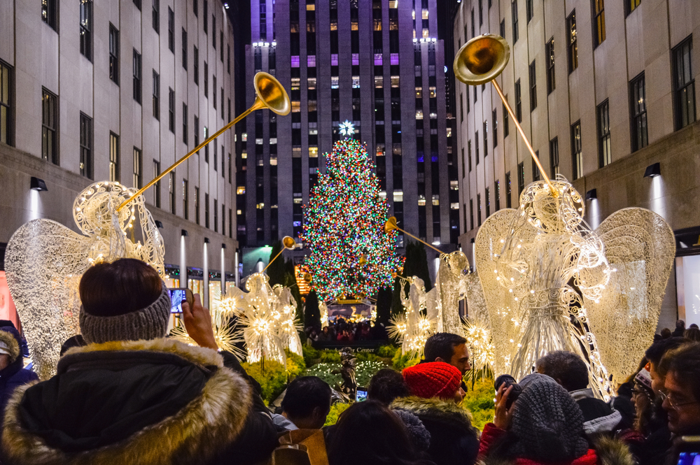 For the past decade, the ornament-laden trees that have been lit up with glitz, songs and dancing Rockettes have gone on to be milled into lumber used in dozens of Habitat for Humanity homes from Philadelphia to Pascagoula, Mississippi. (Shutterstock)