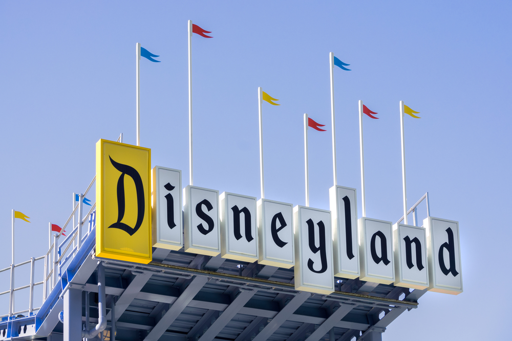 Power was fully restored at Disneyland on Wednesday after an outage at the California theme park forced some guests to be escorted from stalled rides. (Shutterstock)