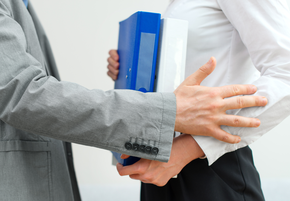 The sexual misconduct allegations that have brought down powerful men in Hollywood, media, politics and business are sending a shiver through the workplace. Men are wondering if it's still OK to hug a female colleague or ask about her weekend. (Shutterstock)