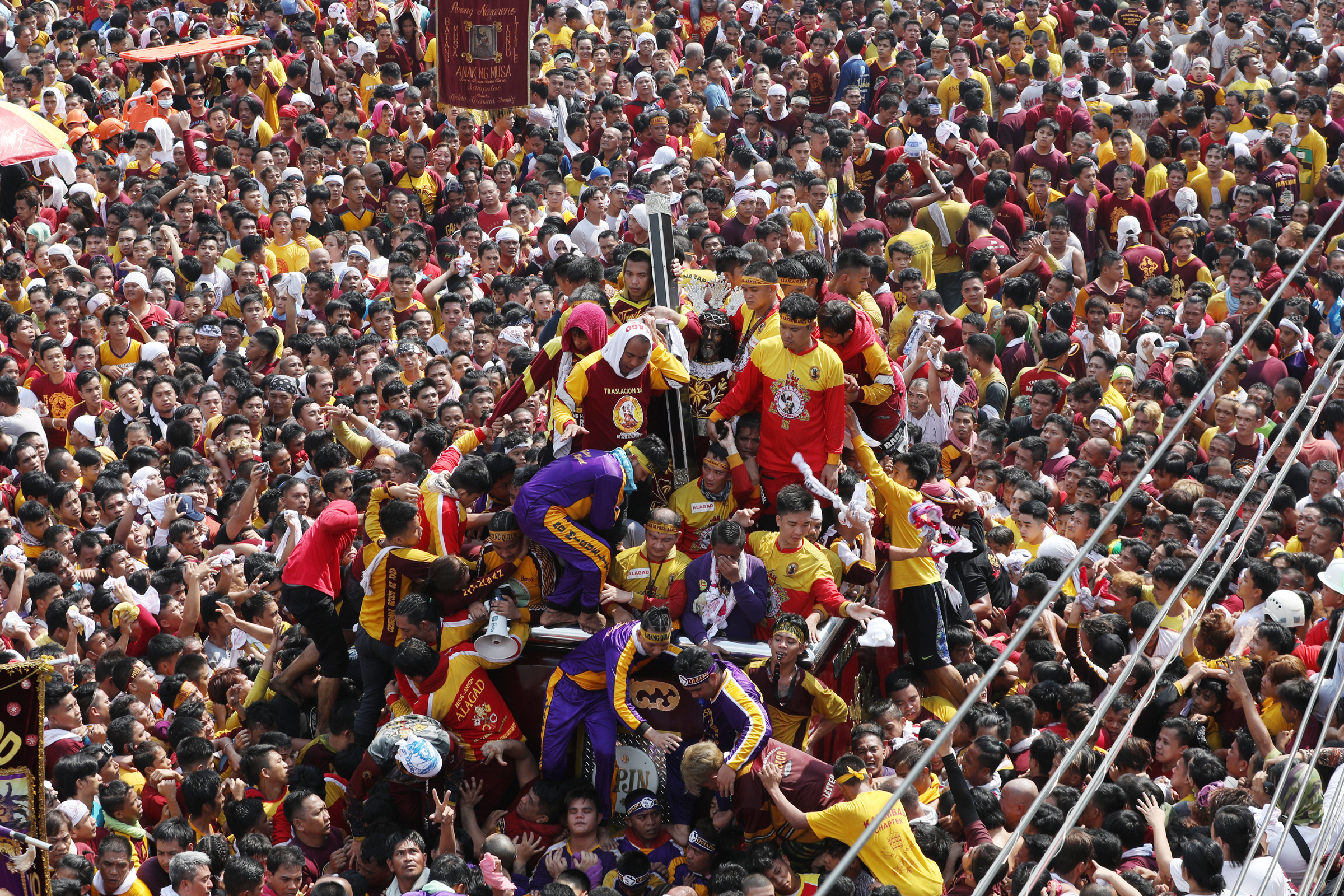Traslacion 2018 ends as Black Nazarene returns home to Quiapo church
