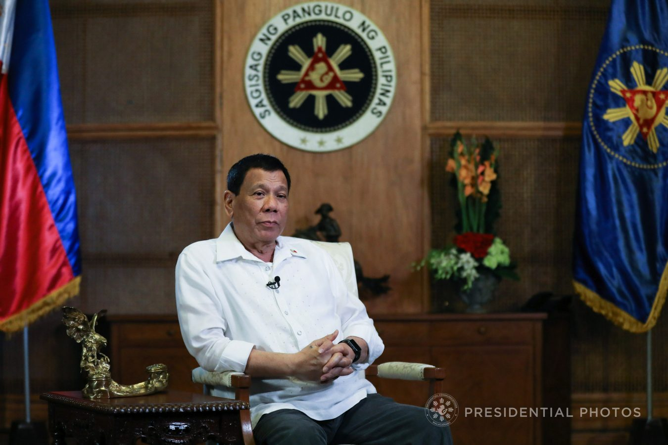 FILE: President Rodrigo R. Duterte on Friday said he wants the Armed Forces of the Philippines (AFP) to cut its USD233 million contract to purchase 16 helicopters from Canada. (TOTO LOZANO/PRESIDENTIAL PHOTO)
