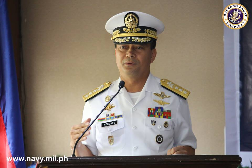 Duterte names Empedrad new Navy chief