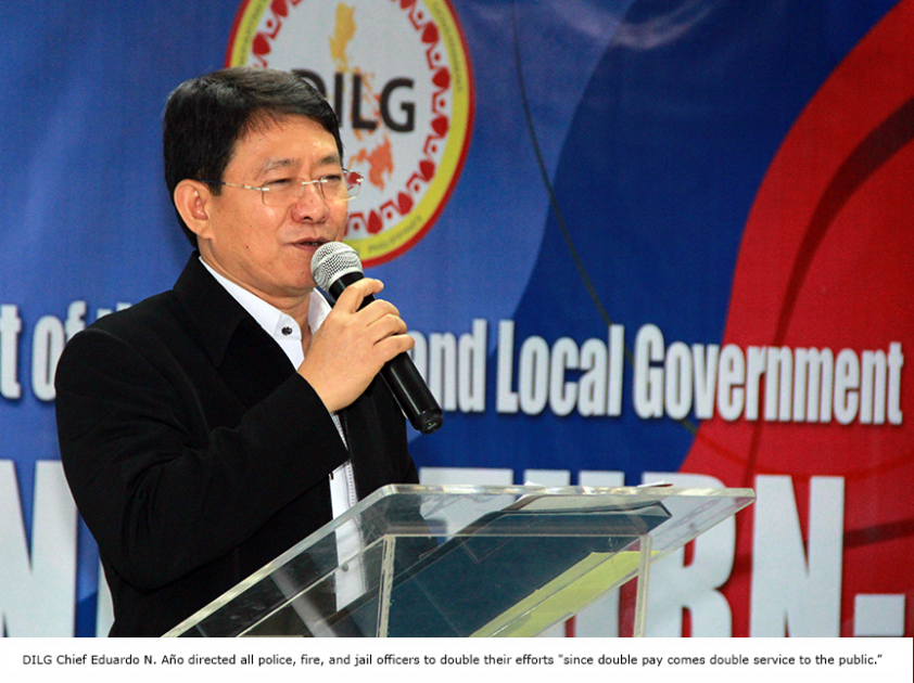 FILE: DILG Officer-in-Charge Eduardo M. Año. (Photo: DILG)