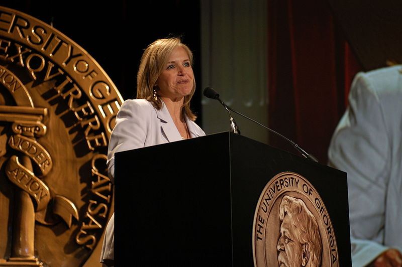 Katie Couric hosting the 63rd Annual Peabody Awards