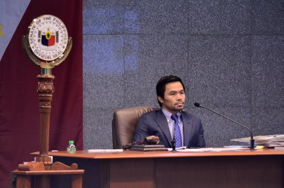 FILE: He cited the case of Joanna Daniela Demafelis, whose body was found in a freezer in an abandoned apartment in Kuwait last week. (Photo: Manny Pacquiao/Facebook)