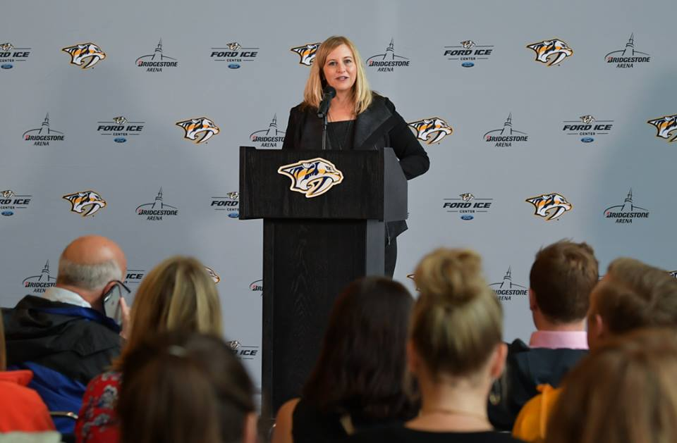 Nashville Mayor Megan Barry revealed Wednesday that she had an extramarital affair with the former head of her security detail. (Photo: Mayor Megan Barry/Facebook)