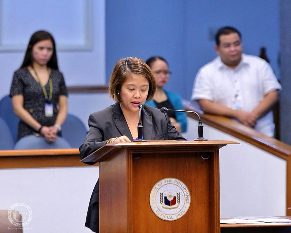 FILE: Binay said in a statement that the dwindling supply of NFA rice forces consumers to buy expensive commercial rice. (Photo: Nancy Binay/Facebook)