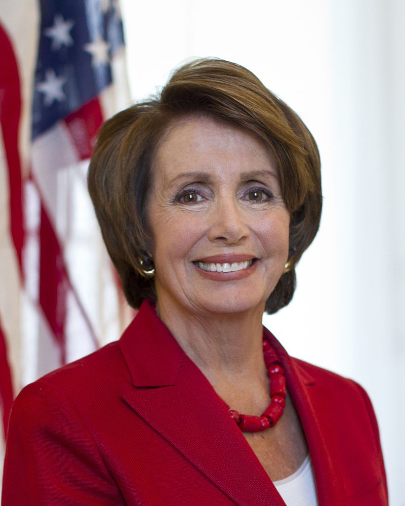 FILE: Official portrait of U.S. Representative and Minority Leader Nancy Pelosi. (Photo By Unknown - https://lh4.googleusercontent.com/-t0secF_x6s8/Ua9BHjLT1LI/AAAAAAAAAGI/VzpqCPRHYwc/s1226-no/OFFICIAL+HEAD+SHOT+300+DPI.jpg, Public Domain)