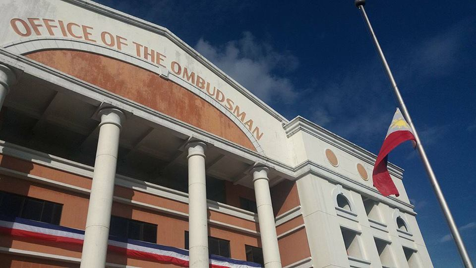 FILE: The Office of the Ombudsman has found probable cause to charge former Carigara, Leyte Mayor Anlie Apostol with one count of violation of the Anti-Graft and Corrupt Practices Act over a water project in 2010. (Photo: Office of the Ombudsman Philippines/Facebook)