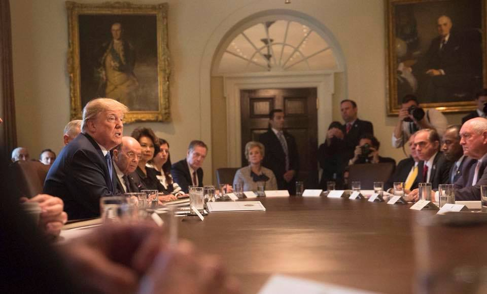 President Donald Trump says he's done campaigning for insurgents challenging incumbent Republican members of Congress. (Photo:  Donald J. Trump/Facebook)