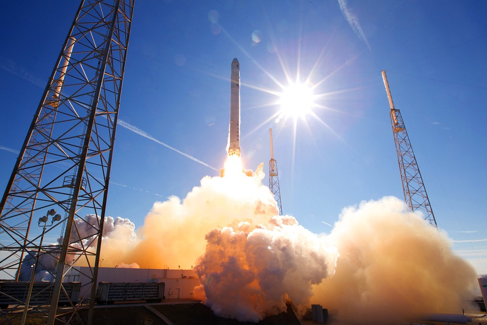 SpaceX had a royal audience as it launched a satellite for Luxembourg. (Pixabay photo)