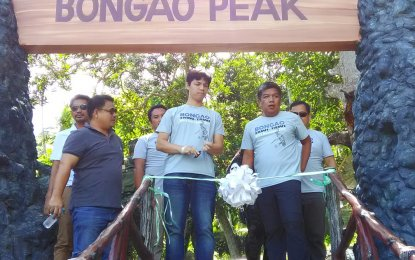 Bud Bongao or Bongao Peak got further sprucing-up with the completion of the construction of PhP56 million infrastructures to make access to it easier and friendlier. (PNA photo)