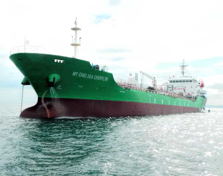 FILE: CLC told the local bourse the ship is designed for Philippine waters taking into consideration the local sea condition and consumer demand. (Photo: chelsealogistics.ph)