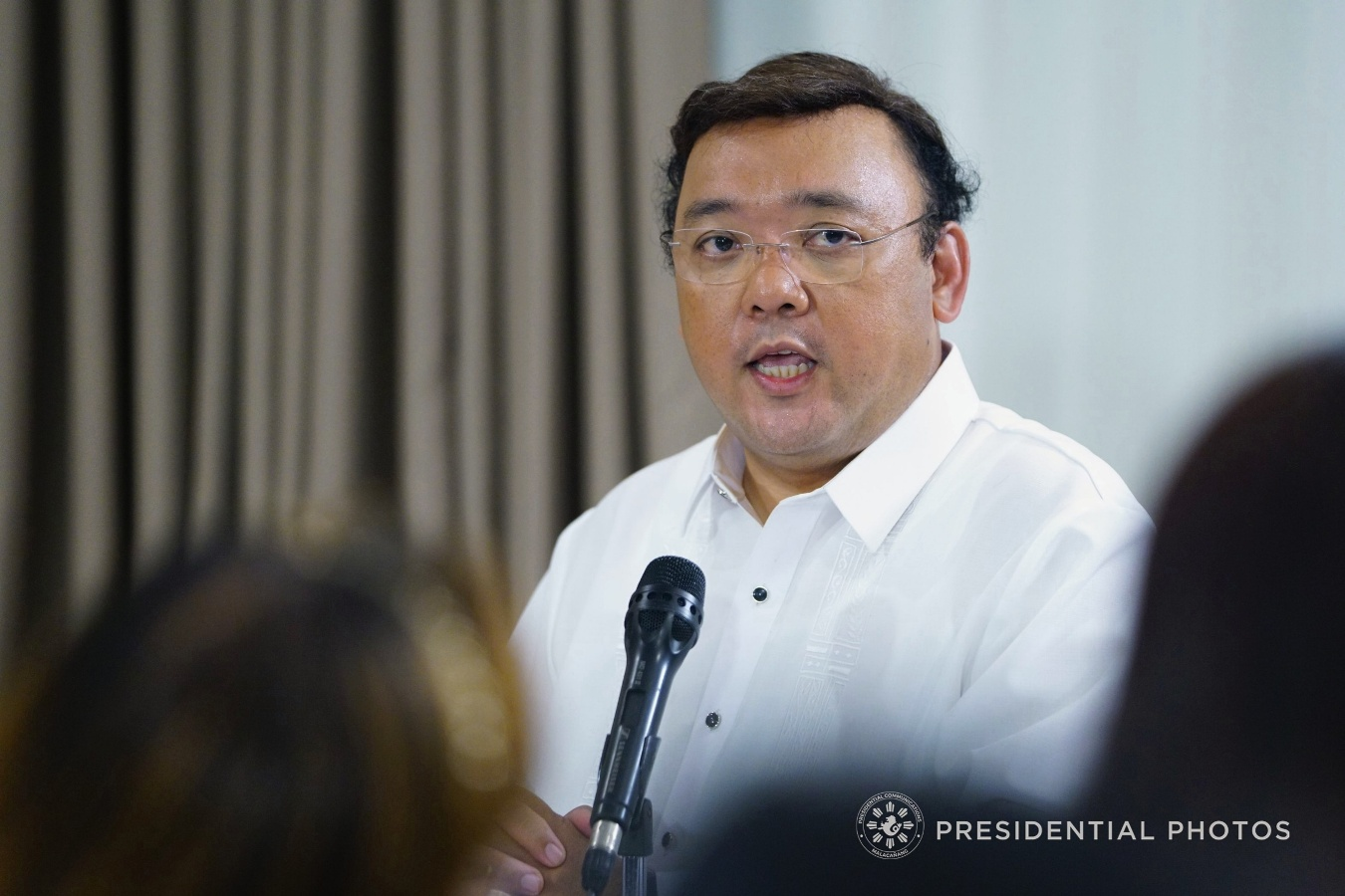 He said the President understood very well the plight of those cultural minorities in Mindanao. (PCOO Photo)