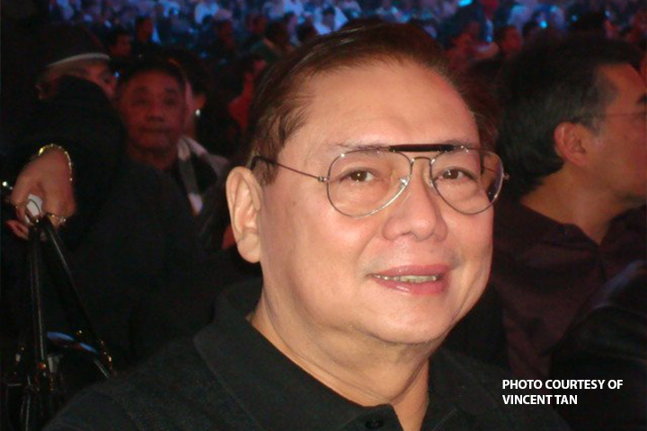 Former First Gentleman Mike Arroyo (PNA Photo)