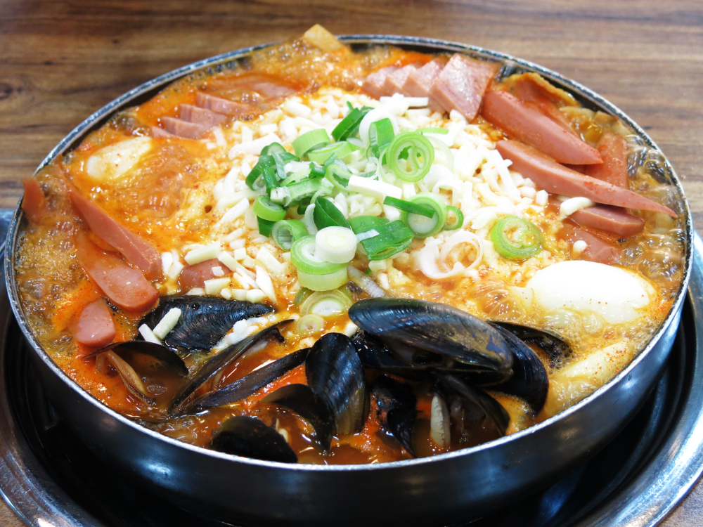 """A South Korean dish called Budae Jjigae (pictired), or """"army stew,"""" prominently features Spam, the canned meat product from Minnesota. (Shutterstock)"""