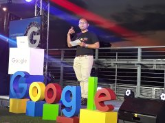 During the 5th anniversary of Google Philippines, its Country Manager Ken Lingan said growing the Philippines' digital economy by engaging micro, small, and medium enterprises (MSMEs) to thrive online was one of the thrusts of Google in the country.(PNA photo)