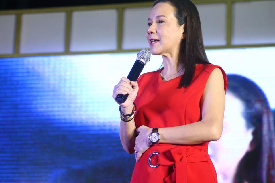 """""""The West Philippine Sea will freeze over first before China will even begin toying with the idea of giving us back those islands,"""" Senator Grace Poe said. (Photo: Grace Poe/Facebook)"""