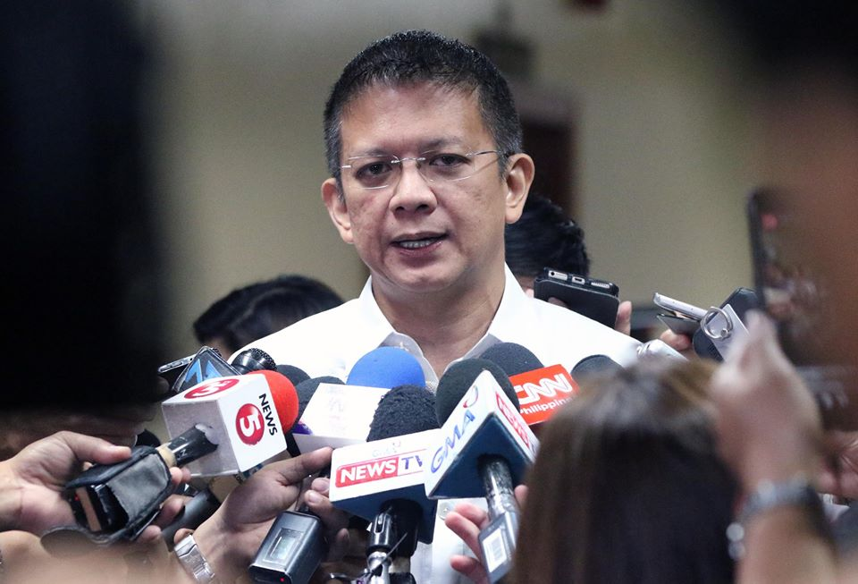 The Senator said that if there is no signed waiver from the depositor the efforts would just be a waste of time. (Photo: Francis Chiz Escudero/Facebook)