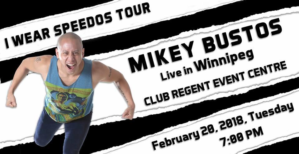 I Wear Speedos Tour-Winnipeg (Photo Mikey Bustos / Facebook page)